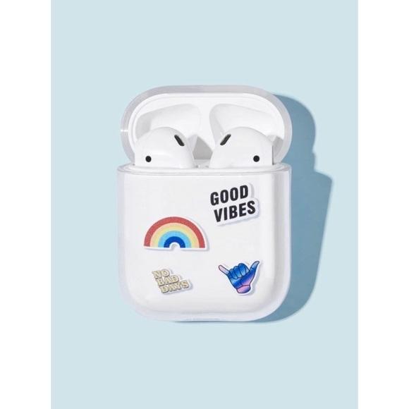 Shein Accessories Good Vibes Airpods Case Poshmark